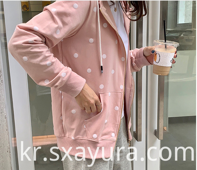 female sports Casual Jacket