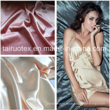 Polyester Silk Satin for Lady Sexy Pajamas Cloth Fabric