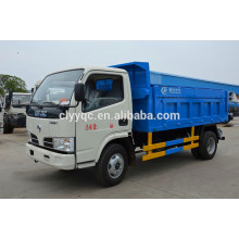 DFAC mini sealed garbage collection truck from original factory