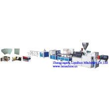 Linha de extrusão de plástico madeira CE/GV/ISO9001 (LS200)