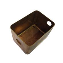 OEM deep drawn sheet metal stainless steel brass copper deep drawn metal parts deep drawing parts