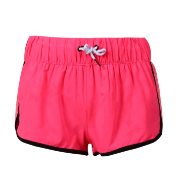 Soild Color Breathable Elastic Board Badeshorts
