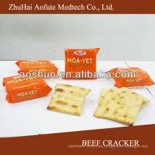 Galleta de la carne de vaca y nombre de las galletas