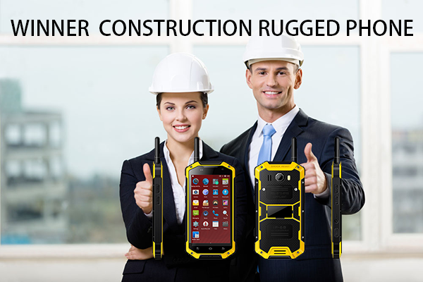 WINNER CONSTRUCTION RUGGED PHONE