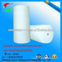 El vinilo más profesional de poliéster reforzado para sbs app membrana impermeable