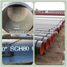 API 5L B spiral welded pipe for fluid feeding