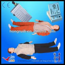 Fortgeschrittener Erwachsener Erste-Hilfe-Simulator Ganzkörper-CPR-Maniküre-Mannequin