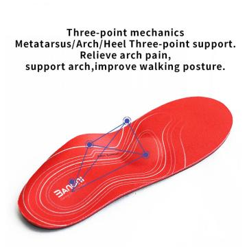 Sol kaki datar yang parah Sol Orthotic Arch Support