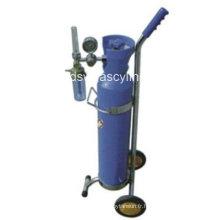 Supprimeur de cylindre de gaz oxygène 5L
