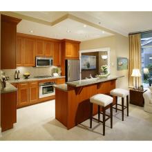 Modern kitchen cabinet furniture wooden kitchen cabinet island China cheap price kitchen cabinet furniture