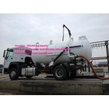4x2 8M3 Sewage Suction Truck