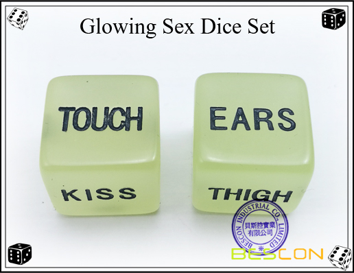 Glowing Sex Dice Set3