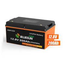 Bluesun Lithium Battery 12V 200Ah Lithium Iron LiFePO4 Deep Cycle Battery