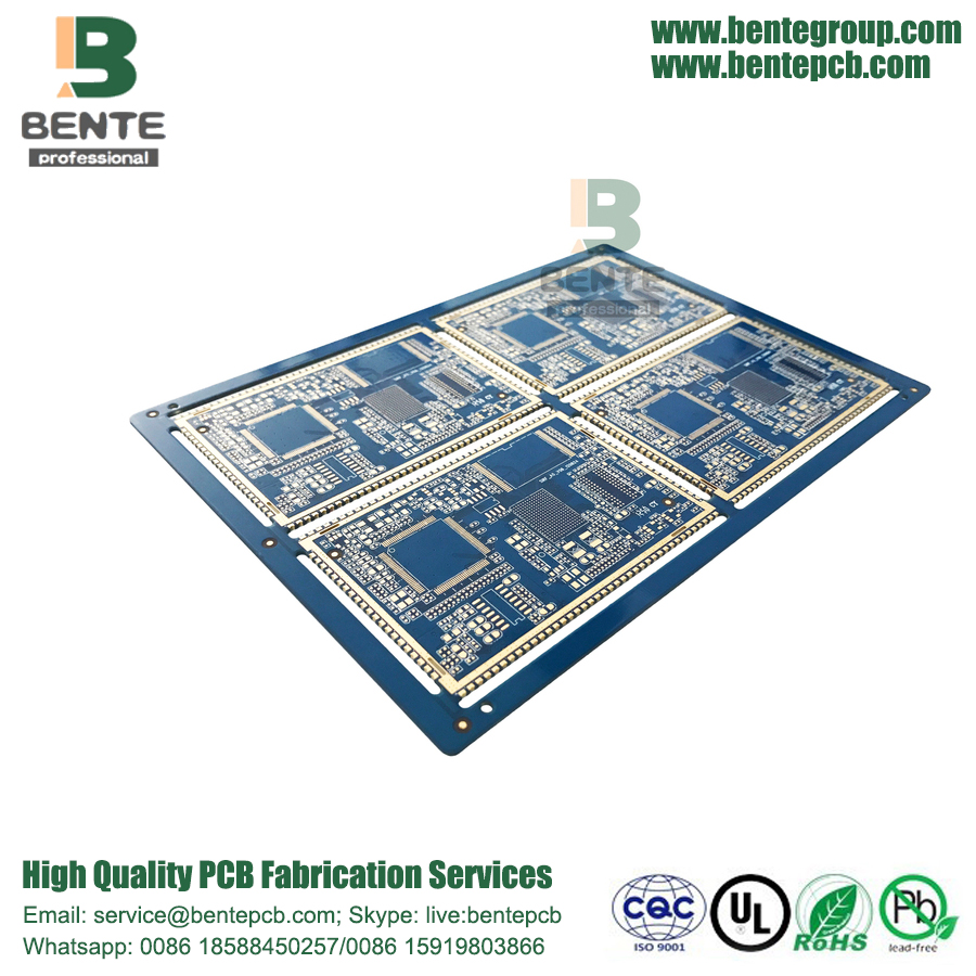 Multilayer PCB FR4 ENIG Impedanzkontrolle