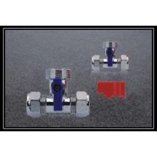 hot sale chromed washing machine valve