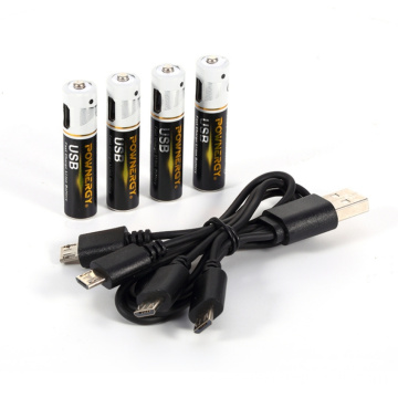 Pile rechargeable AAA 1.5 v
