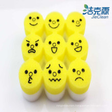 Different Lovely Face-Sponge of Melamine