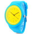 2016 Newest Fashion Brand Women Colorful Jelly Watch