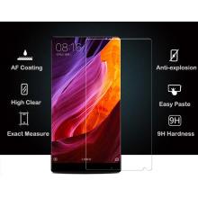 Alta calidad Precio competitivo 2.5D borde Alta transparencia transparente protector de pantalla de vidrio templado para Xiaomi Mix