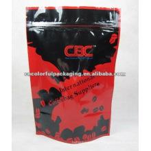 folha de alumínio stand up pouch saco de café jumbo