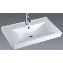 Lavabo de cerámica de la vanidad del cuarto de baño rectangular (9060C)