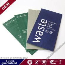 Custom Printed Air Line Airsickness Paper Vomit Bag Dry Fruit Packing Bag Travel Vomit Bags