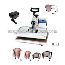 Sunmeta combo máquina 8in1 calor imprensa máquina de sublimação --- fabricante