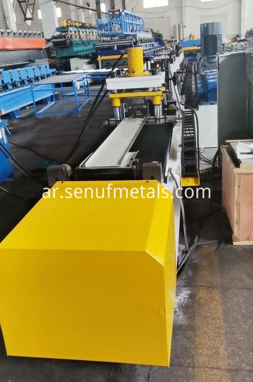 L bar iron steel forming line (1)
