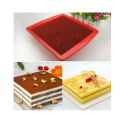 Food Grade Silicone Cake and Brownie Pan