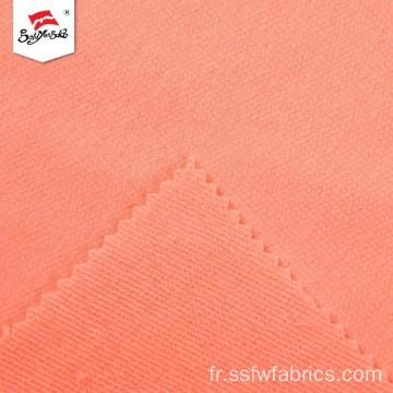 Hot Sale 90% Polyester 10% Rayonne French Terry Tissu