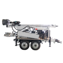 Trailer Mounted diesel Water Well Drill Rigs