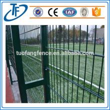 Clôture en maille soudée en PVC revêtue de PVC de haute qualité
