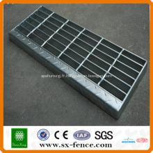 caillebotis en acier de revêtement de sol durable (fabriqué en Chine)