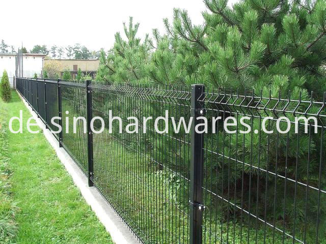 3d curved wire fencing