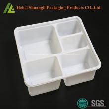 food grade 5 compartment plastic bento boxes