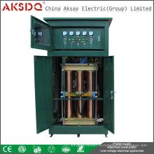 Горячий продавать продукт 3-фазный сервопривод Полный автоматический компенсационный стабилизатор напряжения или регулятор 500kva для больницы Yueqing