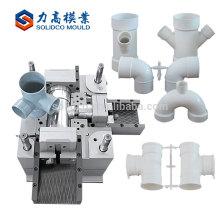 Moulage en plastique d'injection de précision de tuyau de PVC de vente chaude de haute qualité