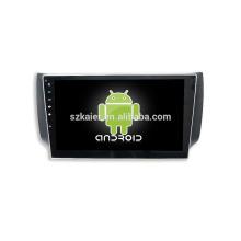 Vier Kern! Android 6.0 Auto-DVD für NISSAN SYLPHY mit 10,1 Zoll kapazitiven Bildschirm / GPS / Spiegel Link / DVR / TPMS / OBD2 / WIFI / 4G