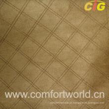 Camurça bordada do falso do sofá (SHSF04220)