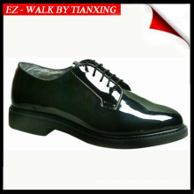 OXFORD MILITARY SHOES WITH SHINNY LEATHER