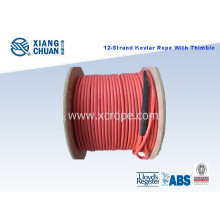RS Approved 12 Strand Kevlar Rope