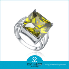 Faceted Square Shaped Stone Jewelry Finger Rings