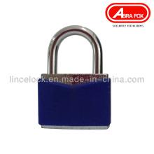 Cerradura de hierro / cerradura de acero con revestimiento de PVC (604A)