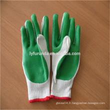 FURUNDA Bu Gants en caoutchouc gants en coton revêtus pour le commerce de gros