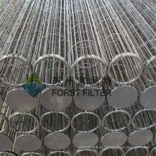 FORST Best Selling Dust Cartridge Filtro Industrial Cages Bag Fornecedor