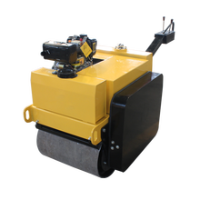 Walk-behind small road roller compactor