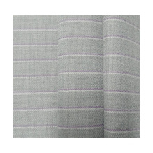 new custom fabric supplier cheap tr polyester viscose base rayon spandex yarn dyed stripe brushed fabric for suiting