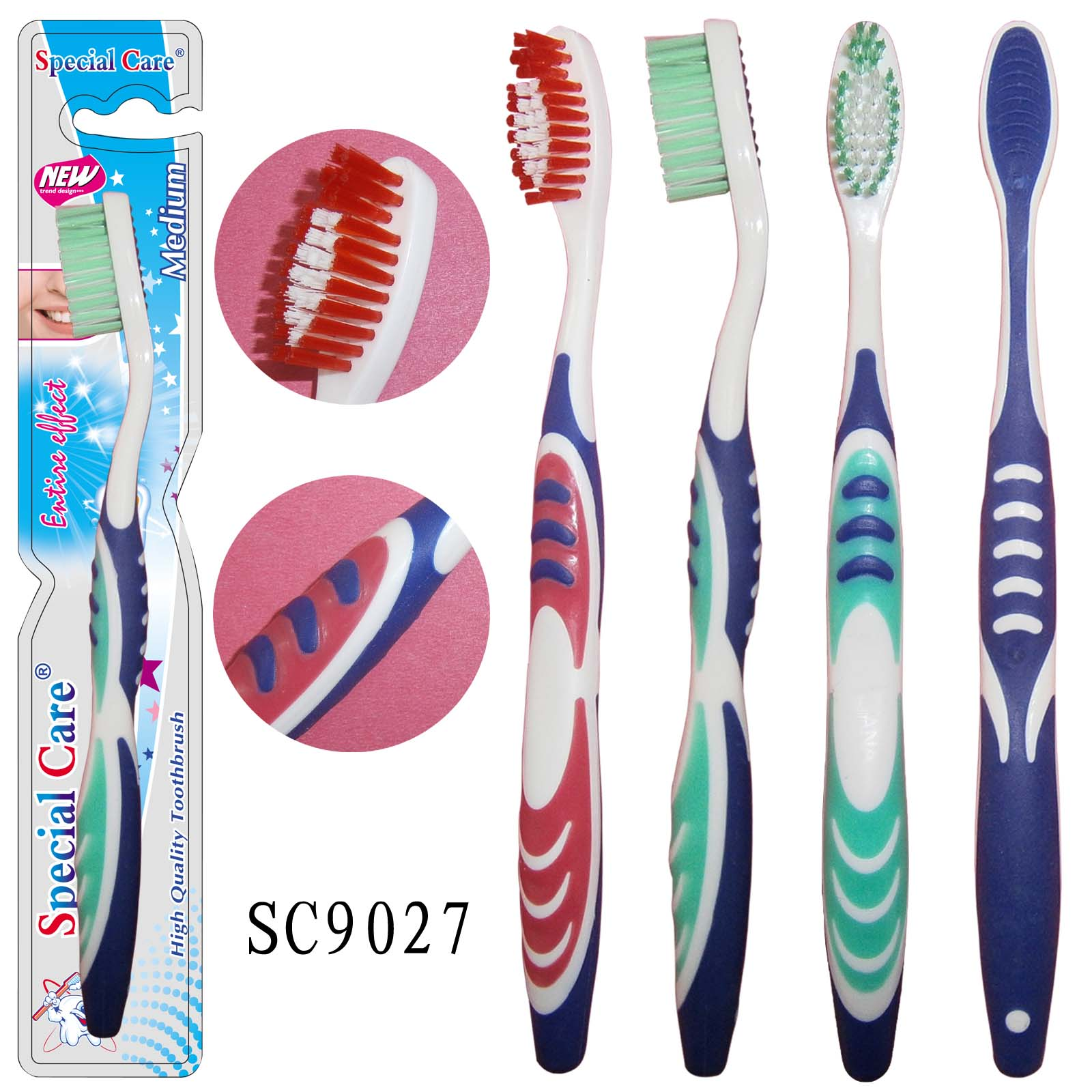 Adult Soft Couples Toothbrush