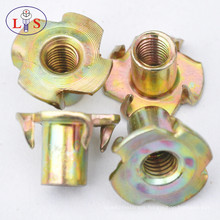 Zinc Hex Screw Flange Nuts with Good Quality