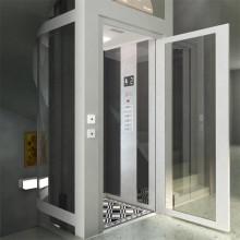 400kg 0.4m / S Barato de interior de vidrio Small Home Elevator